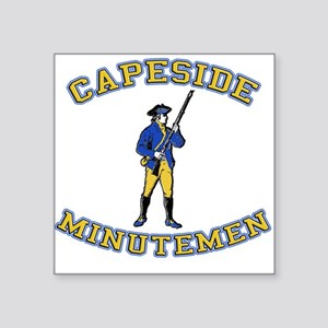 Capeside Minutemen Square Sticker